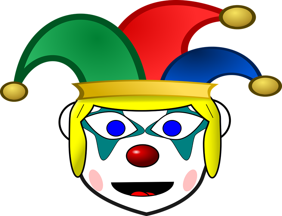 Clown, Comic Characters, Funny, Happy, Humor, Jester