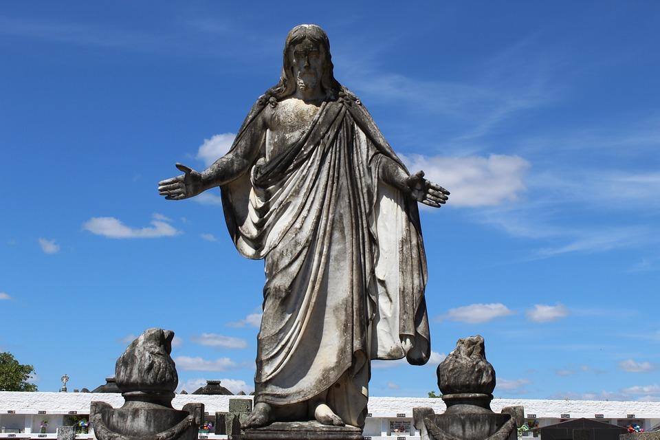 Jesus, Christ, Religion, Cemetery, Christianity, Church