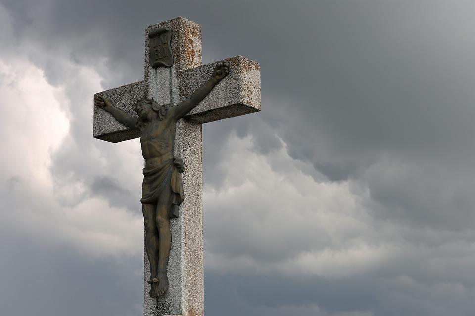 Cross, Jesus Christ, Dramatic Sky, Christian, Spiritual