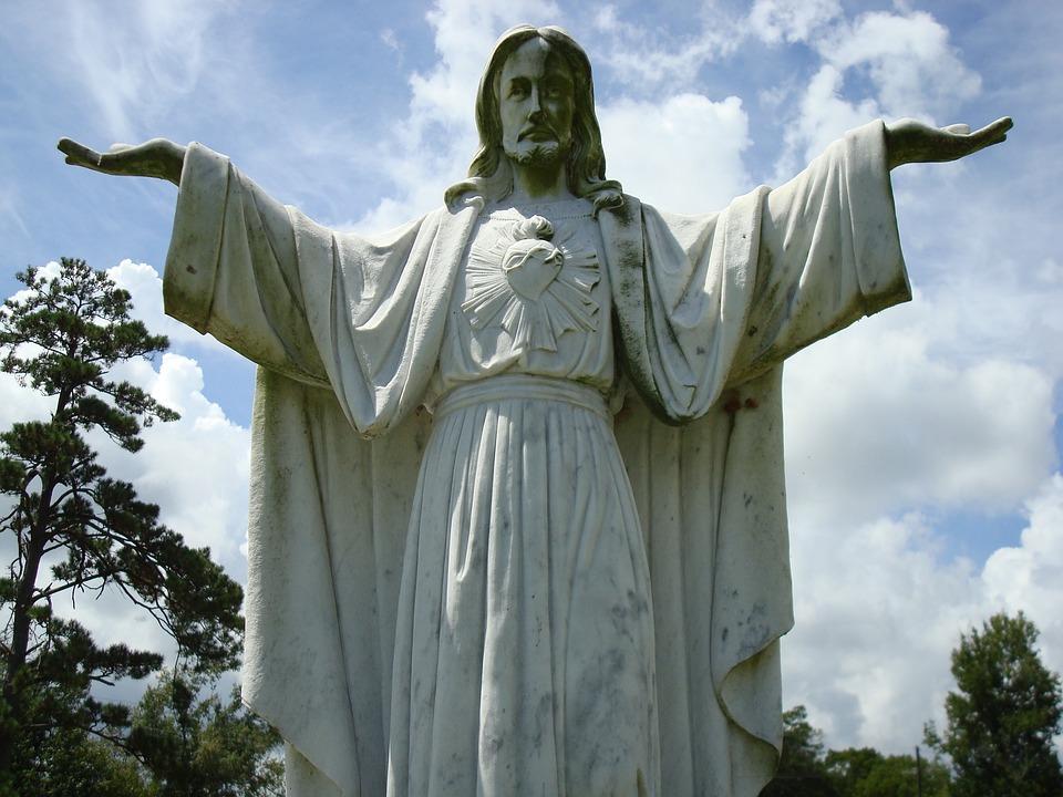 Jesus, Christ, Headstone, Cemetery, Religion, Christian
