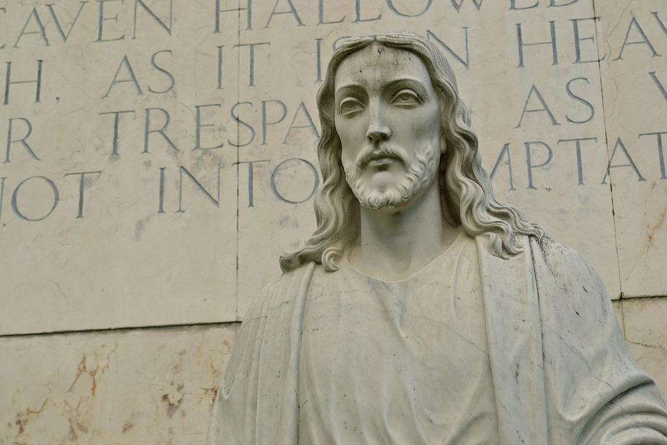 Jesus, Image, Christian, Christ, Faith, Statue, Stone