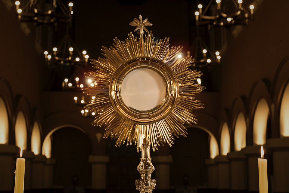 Monstrance, Jesus In The Blessed Sacrament, Religion
