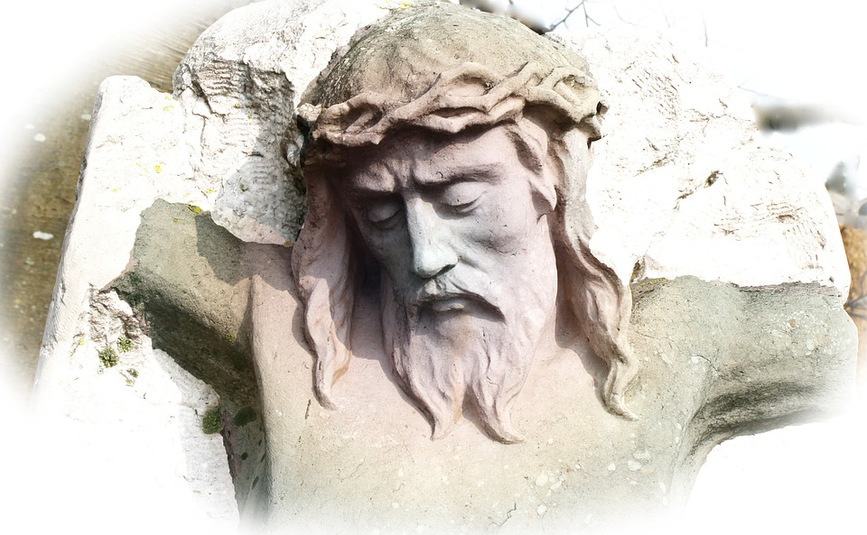 Jesus, Statue, Fig, Head, Face, Sculpture