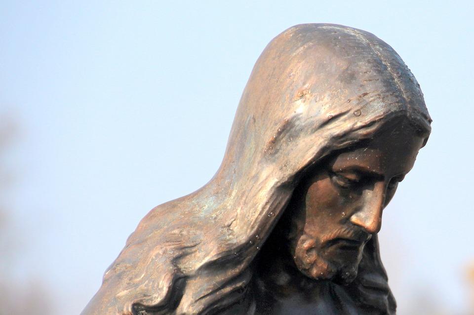 Jesus, Christ, Look Down, Dewdrop, Faith, Symbol