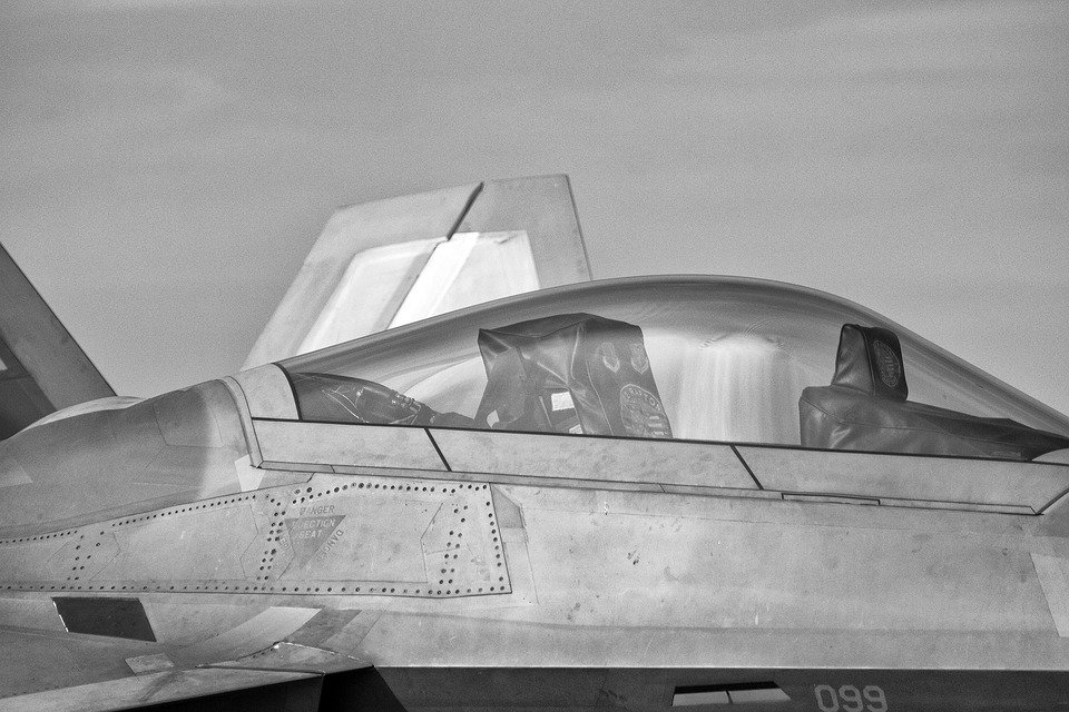 Aviation, F-22 Raptor, Raptor, Jet, F-22, Air, Flight