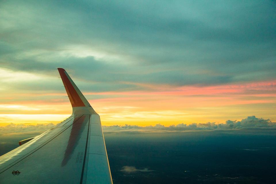 Sky, Flight, Cloud, Air, Fly, Travel, Jet, High