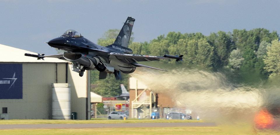 Free photo Jet Viper Takeoff Belgian Air Force Riat F16 - Max Pixel