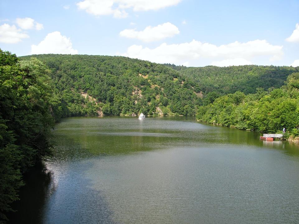 Lake, Brno, Prigl, Reservoir, Wood, Forest, Ship, Jetty