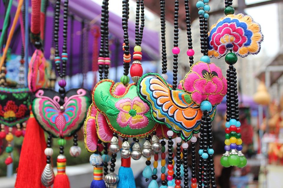Embroidery, China Wind, Jewelry