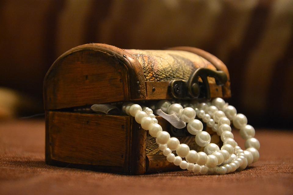 Coffer, Box, Packaging, Bracelet, Jewelry, Chaplet