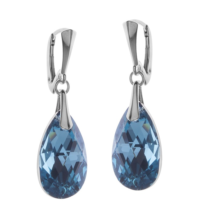 Earrings, Jewelry, Silver, Ornament