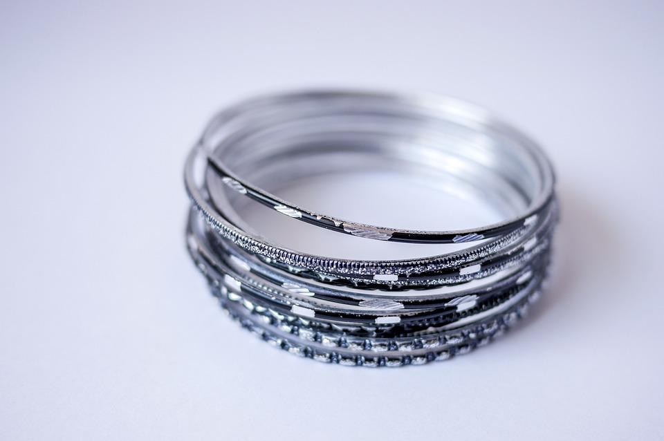 Free photo Jewelry Ornament Silver Bracelet Fashion Bracelets - Max Pixel