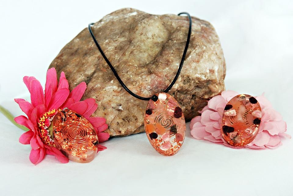 Jewelry, Flower, Rock