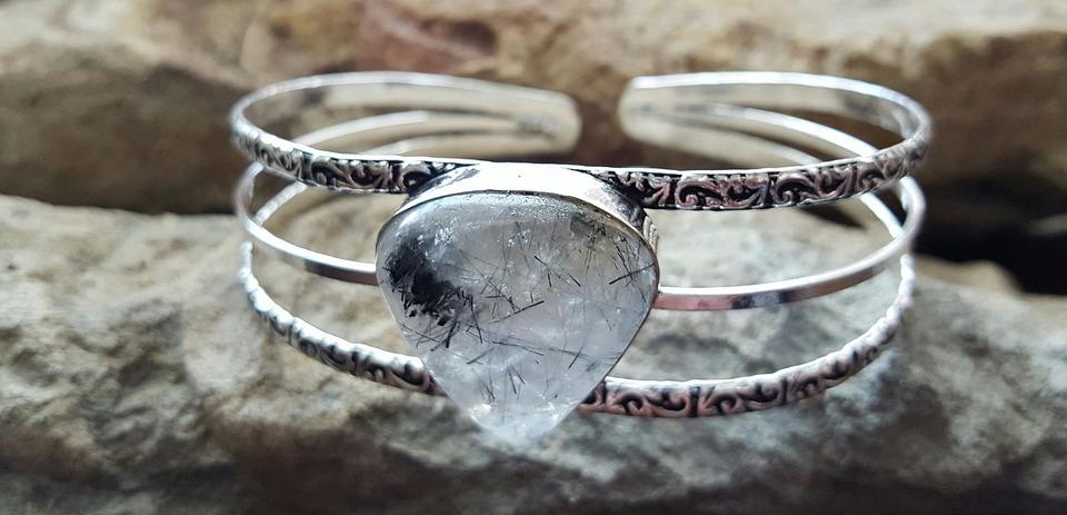 Crystal, Quartz, Rutile, Jewelry, Bracelet, Gemstone