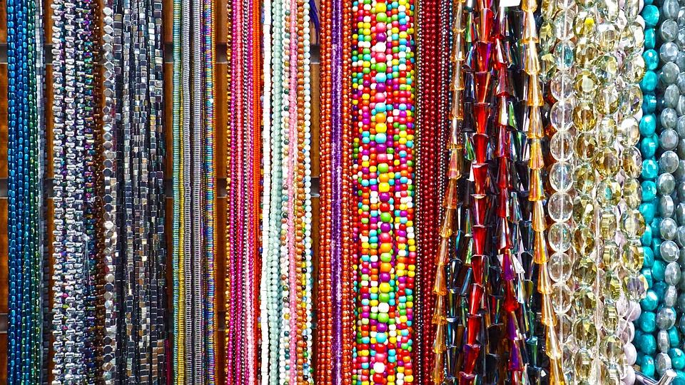 Jewelry, Market, Necklace, Bracelet, Props, Sleeve