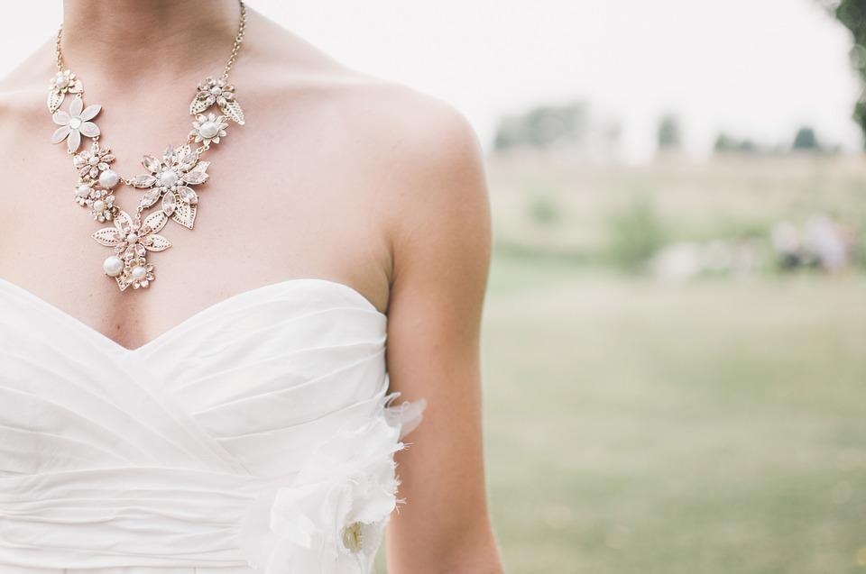 Wedding, Bride, Jewelry, Wedding Dress, Country