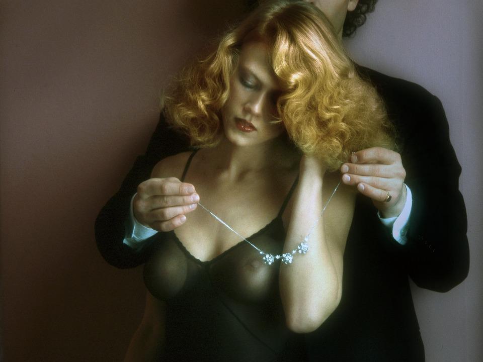 Man, Woman, Jewelry