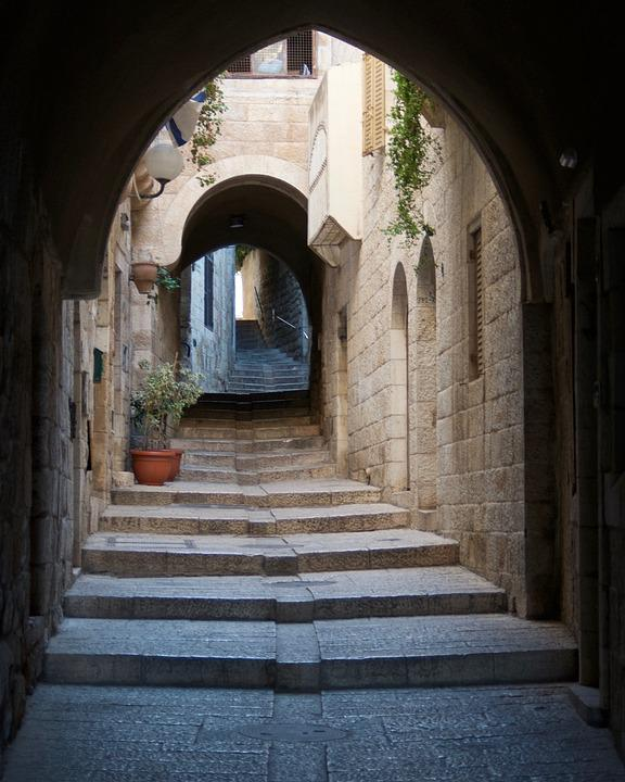Israel, Jerusalem, Jewish, Ancient, Architecture, Old