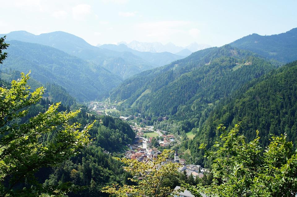 Bad Eisenkappel, železna All Right, Austria, Jezersko