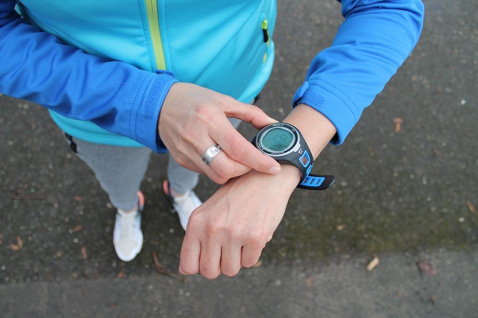 Sport, Clock, Jogging, Time, Fitness, Watch, Stopwatch