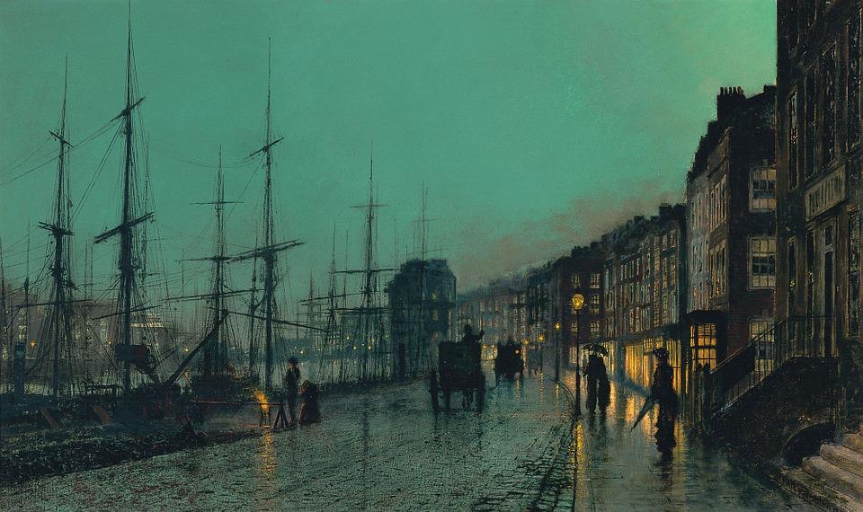 Art, Artwork, John Atkinson Grimshaw, 1881