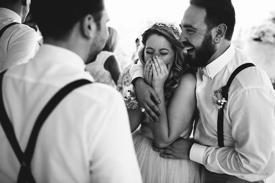 Happy, Wedding, Celebration, Bridesmaid, Best Man, Joke