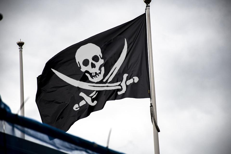 Pirate, Flag, Skull, Crossbones, Jolly Roger, Pirates