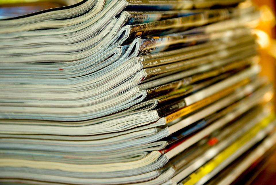Magazines, Journals, Reading