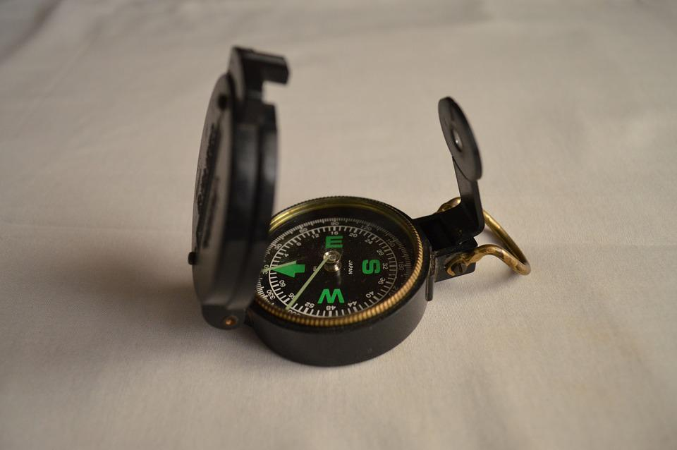 Compass, Navigation, Direction, Journey, Travel, Retro