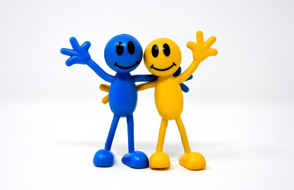 Friendship, Joy, Smilies, Happy, Friends, Together