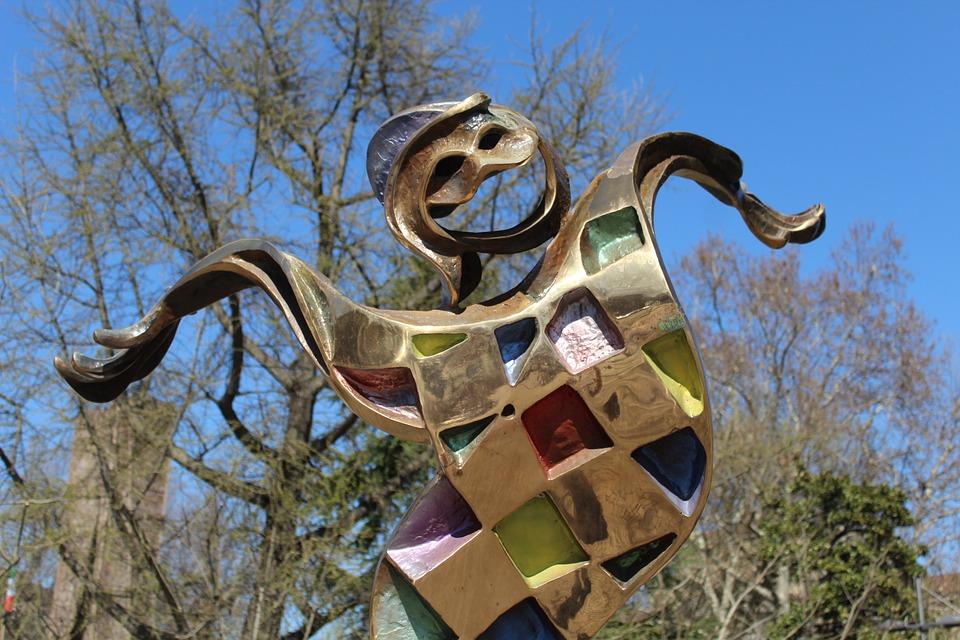 Harlequin, Mask, Statue, Bergamo, Joy