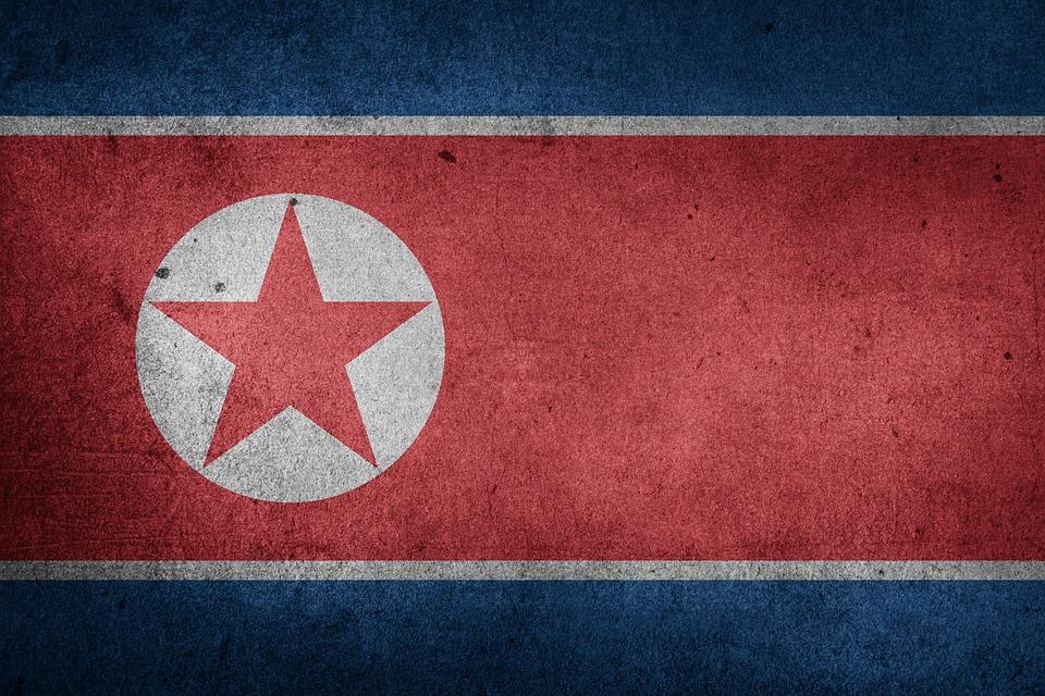 North Korea, Dprk, Korea, Juche, Asia, Flag