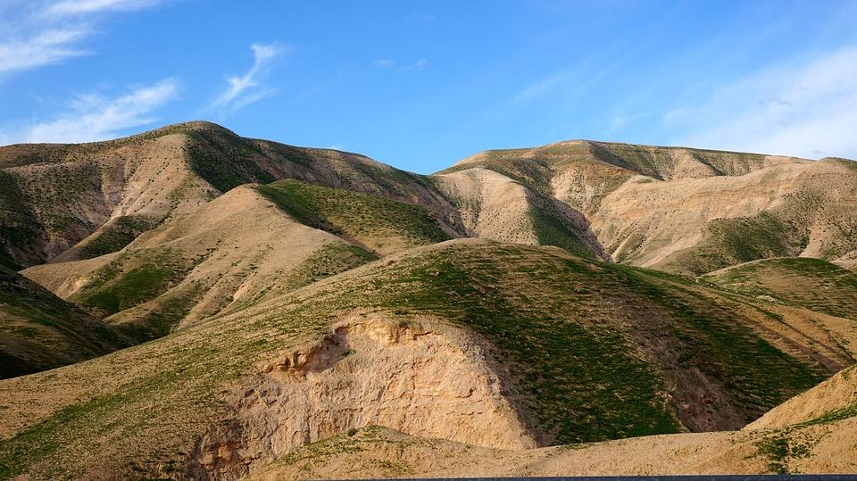 Israel, Judea, Desert, Hills