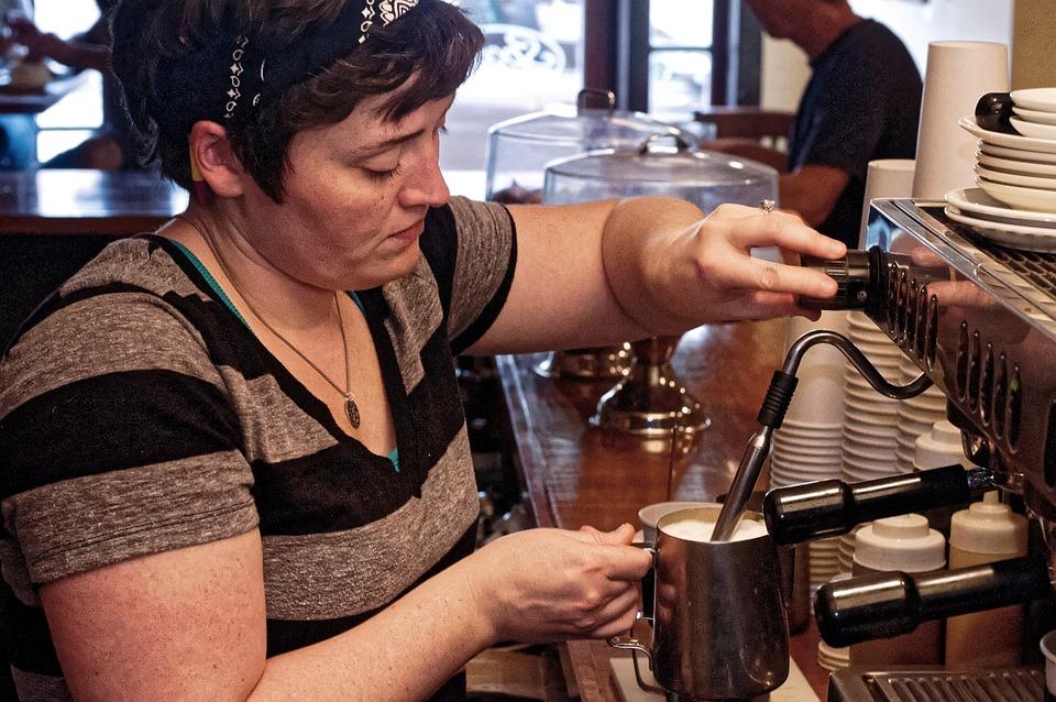 Coffee, Cafe, Coffee Shop, Barista, Latte, Jugs, Cups