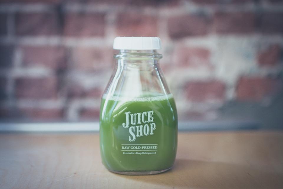 Green, Juice, Bottle, Drink