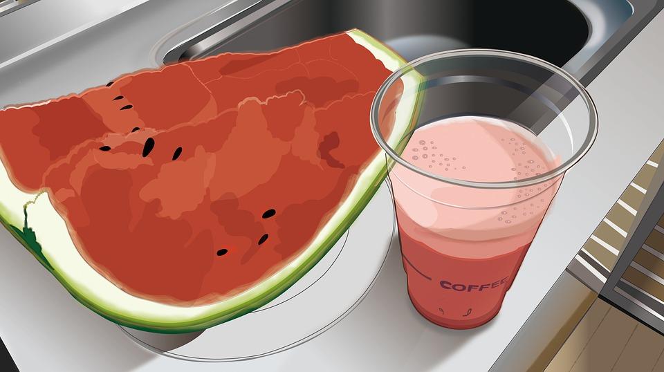 Watermelon, Watermelon Juice, Juice, Fruit, Summer