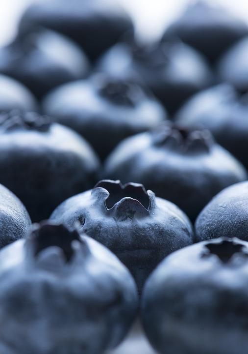 Fruit, Blueberry, Food, Closeup, Juicy, Antioxidant