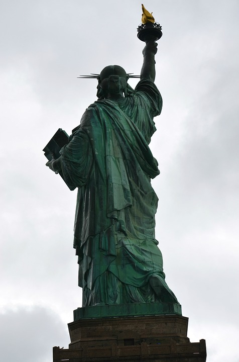 Statue If Liberty, Usa, New York, Freedom, July 4th