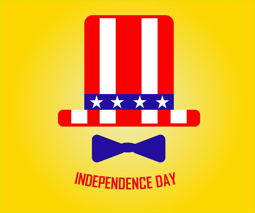 Ribbon, Day, Independence, July, Background, Usa, 4th