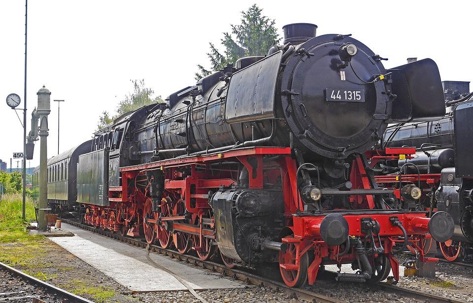 Steam Locomotive, Jumbo, Heavy Goods Train Locomotive