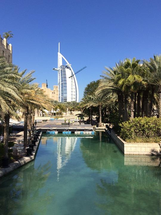 Sailboat, Jumeirah, Dubai