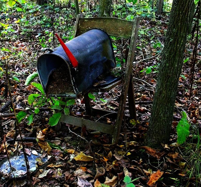 Mailbox, Trash, Junk, Scrap, Dirty, Broken, Old