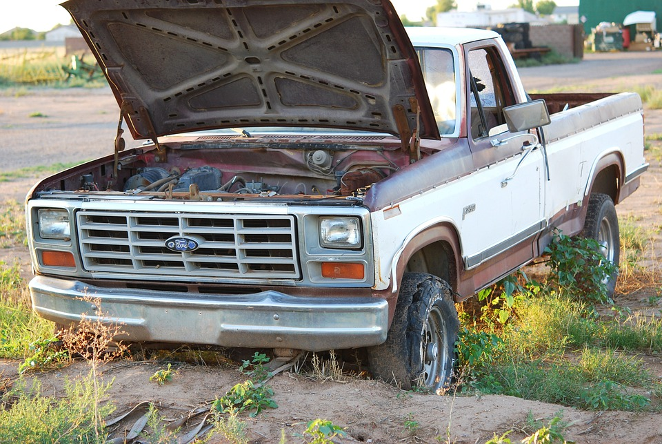 Free photo Junk Transport Automotive Ford Rusted Old Truck - Max Pixel
