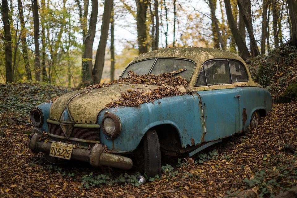 Free photo Junk Yard Car Vintage Classic Car Scrapyard - Max Pixel