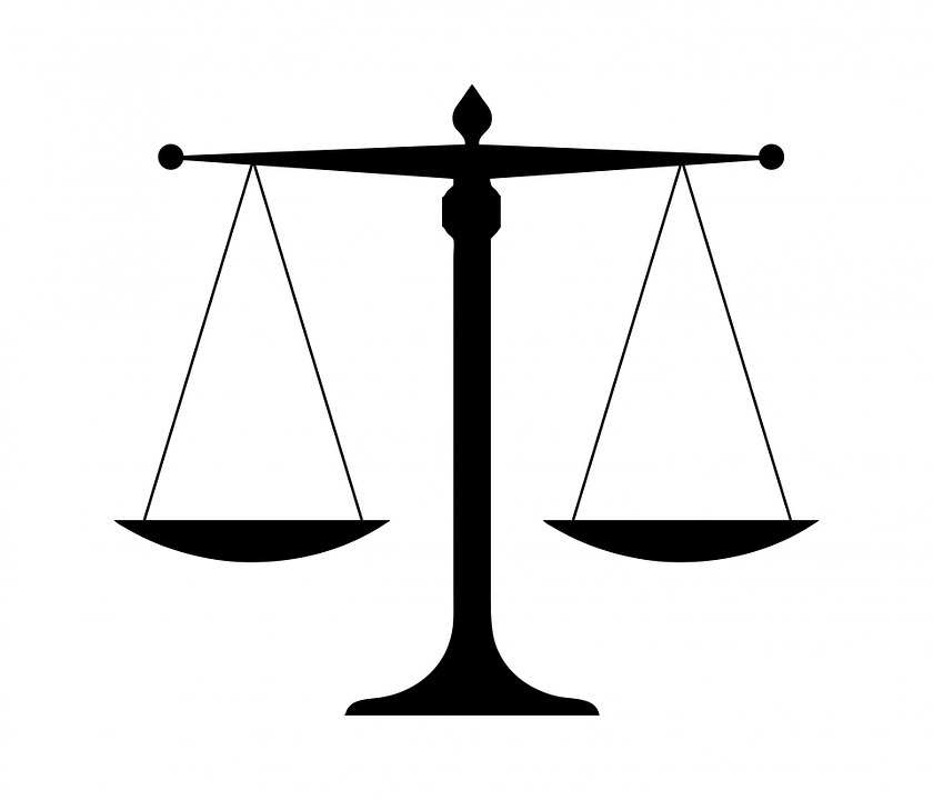 free photo justice law scales silhouette black scales justice - max