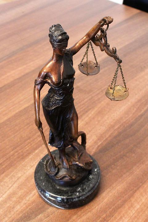 Justice, Justitia, Justitia The Goddess Of