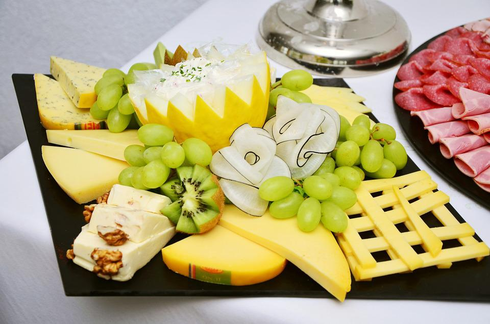 Käseplatte, Cheese, Party, Buffet, Cheese Plate, Hearty
