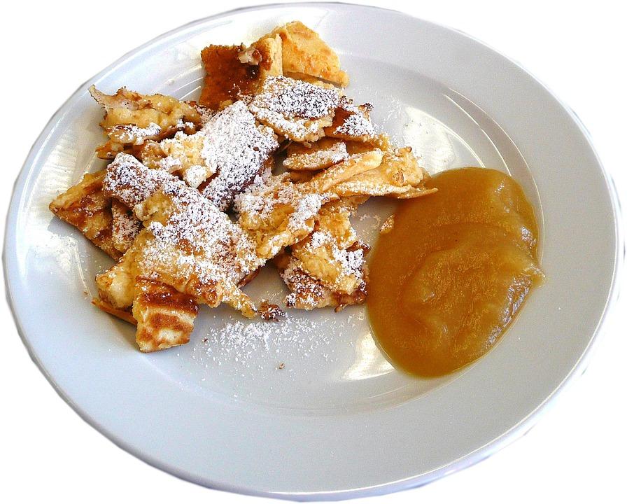 Kaiserschmarrn, Sweet Dish, Pancake, Kaiserschmarren