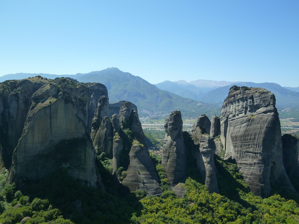 Meteora, Greece, Monastery, Rock, Mountain, Kalambaka