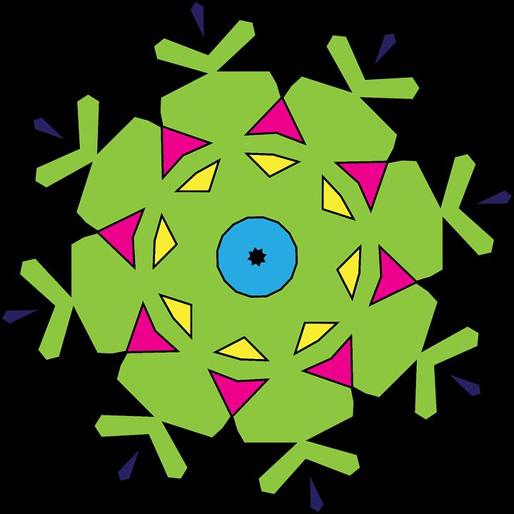 Kaleidoscope, Geometric, Shapes, Abstract, Pattern